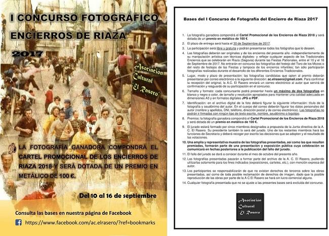 I Concurso Fotográfico, encierros de <h3 class='enlacePalabraNoticia' onclick='opcionBuscarActualidad('Riaza','')' >Riaza</h3>