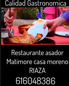 Inmobiliaria Riaza - Restaurante Matimore