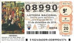 Loter�a Navidad 2014