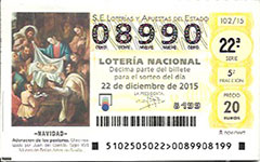 Loter�a Navidad 2015