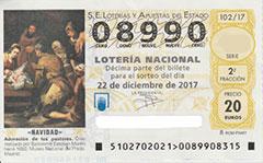 Lotería Navidad 2017