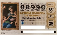 Lotería Navidad 2019