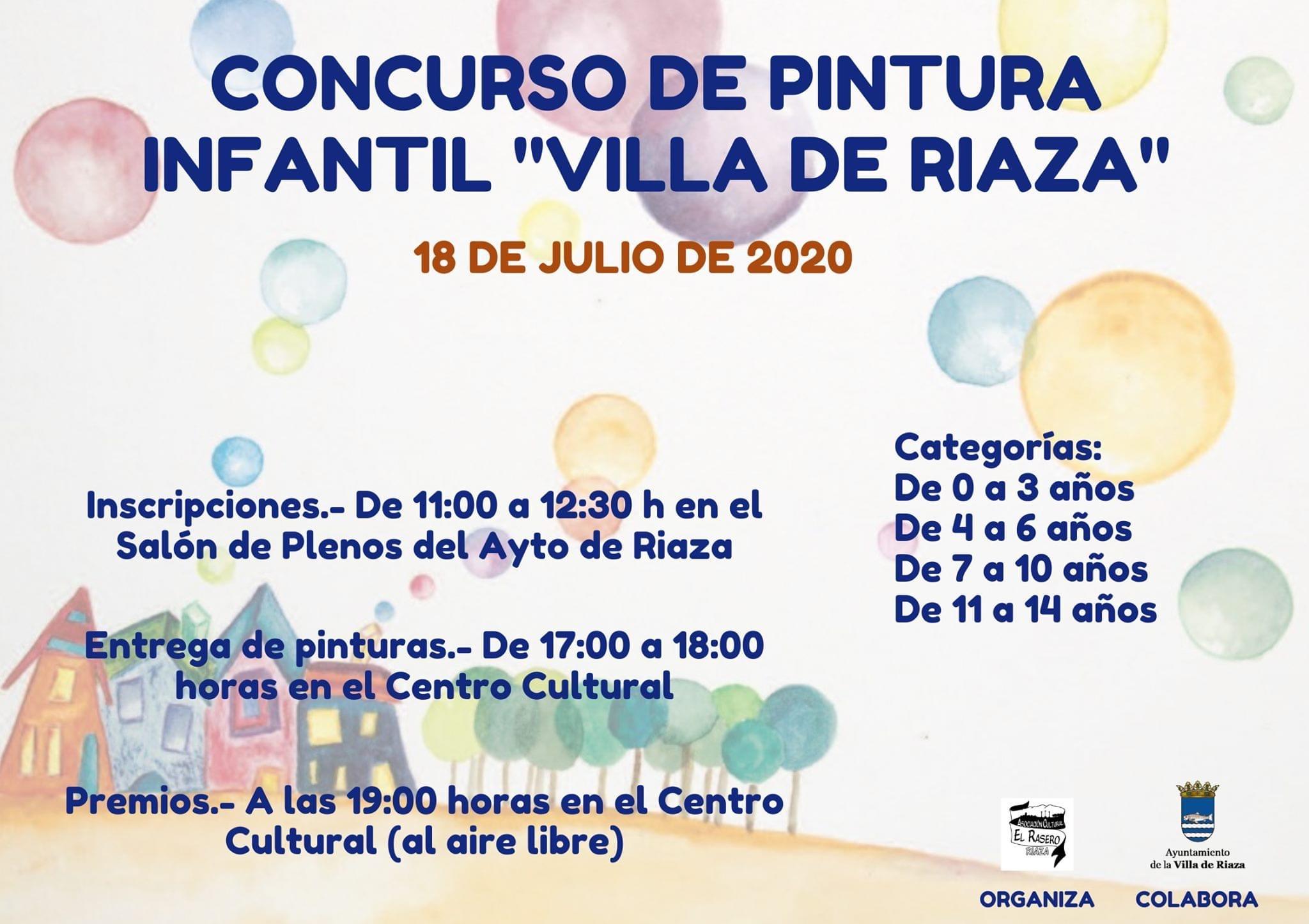 Concurso de Pintura infantil villa de Riaza