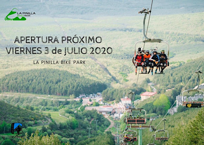 Apertura La Pinilla  Bike Park