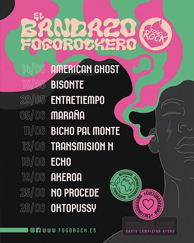 Gira Conciertos<br>El Banzado Fogorockero
