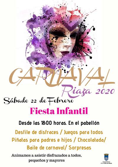 Carnaval Infantil Riaza