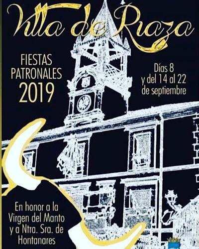 Fiestas de Riaza<br>Festividad de Nuestra Señora del Manto. Patrona de Riaza.