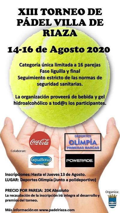 Campeonato de Pádel Villa de Riaza