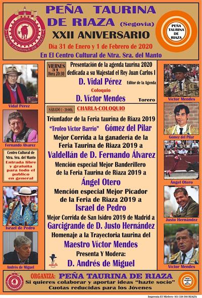 XXII Aniversario Peña Taurina Riaza