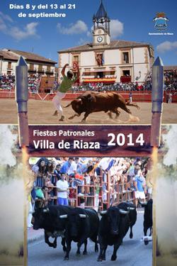 Programa de las Fiestas de Riaza 2014
