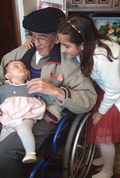 104 años, Nemesio, la persona más longeva de <h3 class='enlacePalabraNoticia' onclick='opcionBuscarActualidad('Riaza','')' >Riaza</h3>