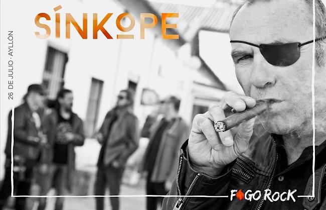 Fogo Rock confirma que SÍNKOPE actuará en la edición 2019