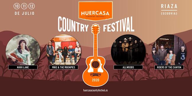 Nikki Lane y Mike & The Moonpies actuarán en Huercasa Country Festival 2020