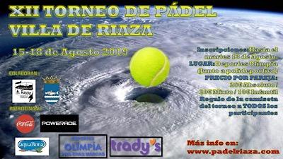 XII Torneo de Pádel Villa de Riaza