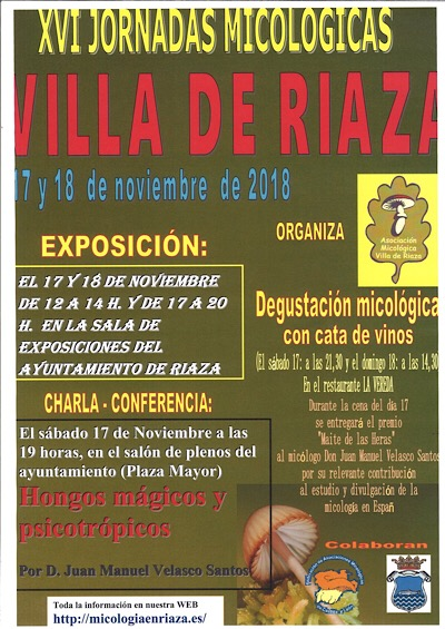 XVI Jornadas Micológicas Villa de Riaza