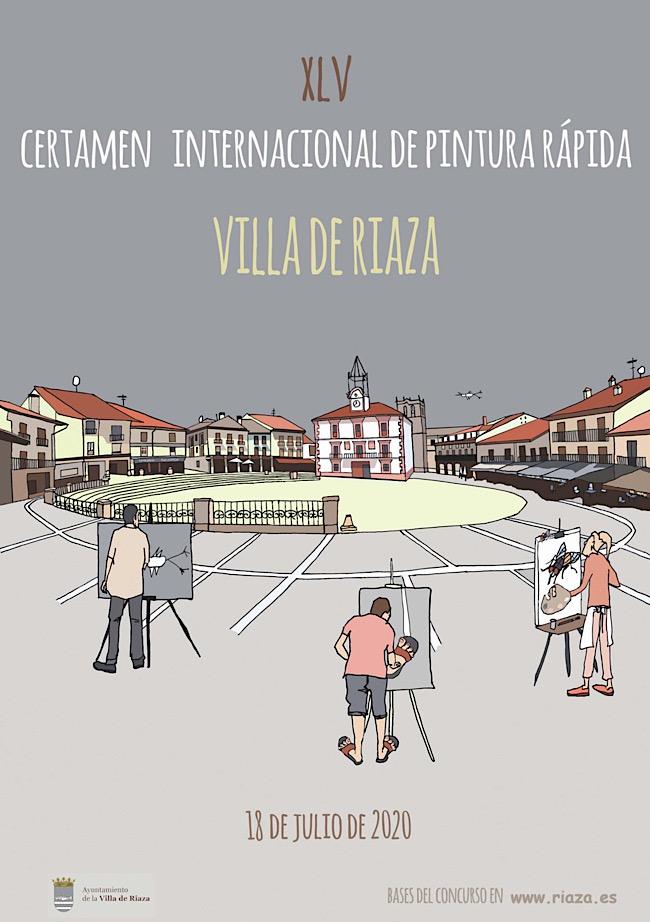 XLV Certamen de Pintura Rápida al Aire Libre Villa de Riaz