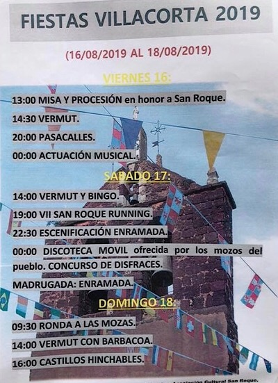 Fiestas Villacorta