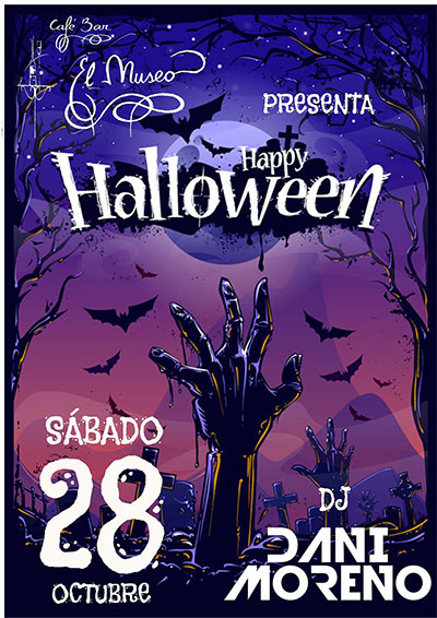 Fiesta Halloween (Cafe Bar El Museo)