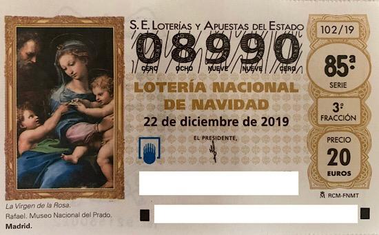 Lotería de Navidad 2019. Yo ya tengo mi décimo, ¿Te vas a quedar sin el tuyo?