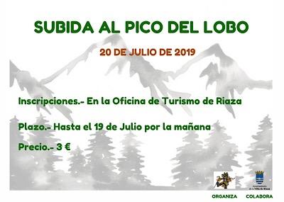 Subida Pico del Lobo